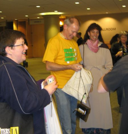 Australian Cultural Evening at WritersUA 2009