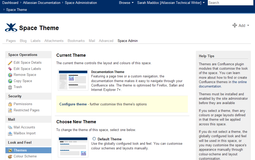 New Documentation Theme For Confluence Wiki Ffeathers