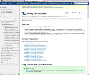 Space jumping in wiki documentation theme