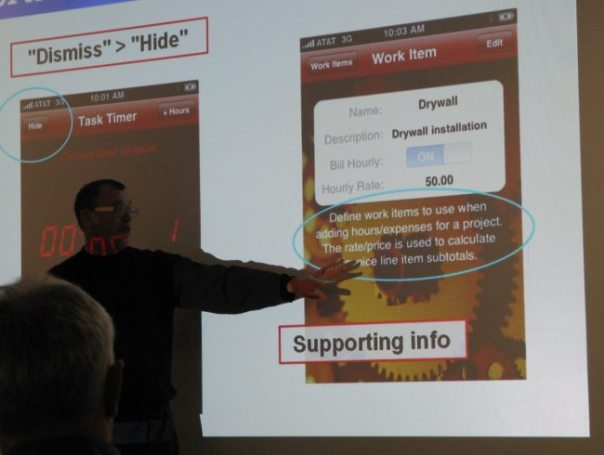 AODC day 1: UA Design and Implementation for iPhone Apps