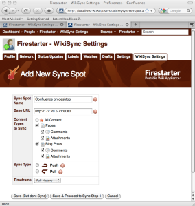 Appfire's Firestarter - Confluence wiki on a stick