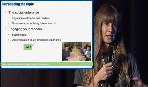 Social media in technical documentation - a presentation