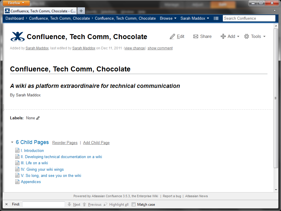 Writing a book with DocBook and a Confluence wiki | ffeathers