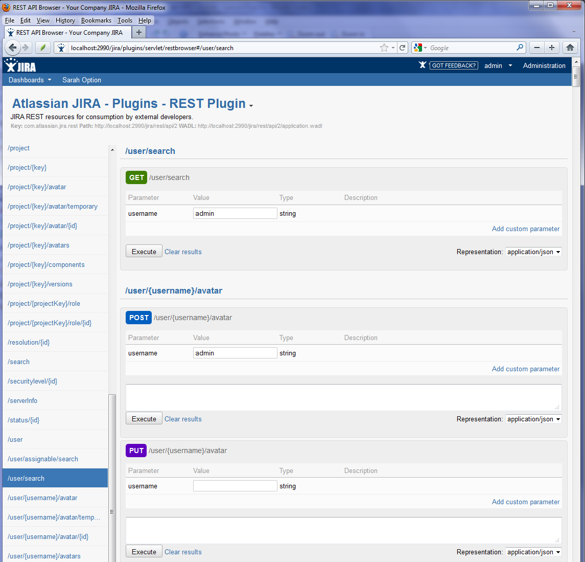Searching for JIRA issues containing special characters ...