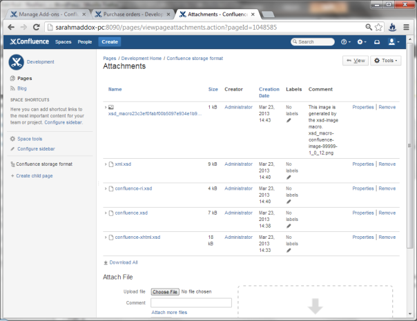 Want an XML schema viewer in Confluence?