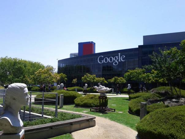 Google campus at Mountain View, CA