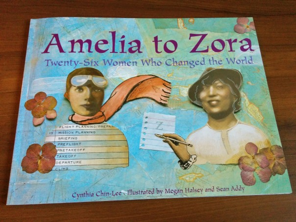 Amelia to Zora - book cover