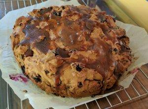 Sarah's hevvy fruitcake