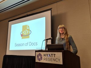 Season of Docs presentation at STC Summit